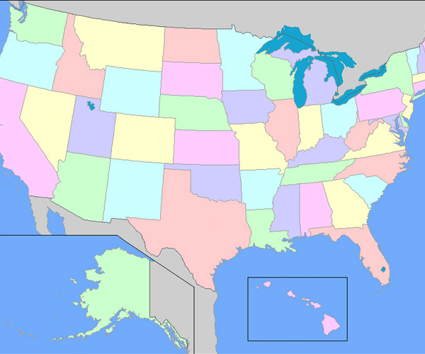 What Every State is Best and Worst At