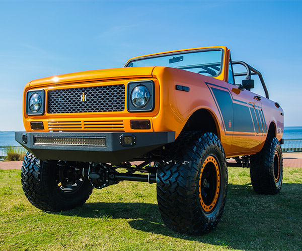 Velocity International Scout Restomod