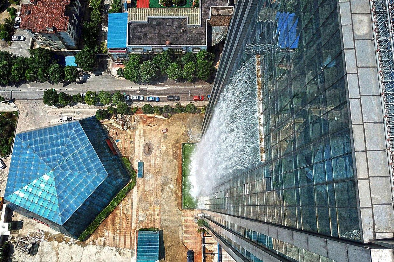 Waterfall Skyscraper