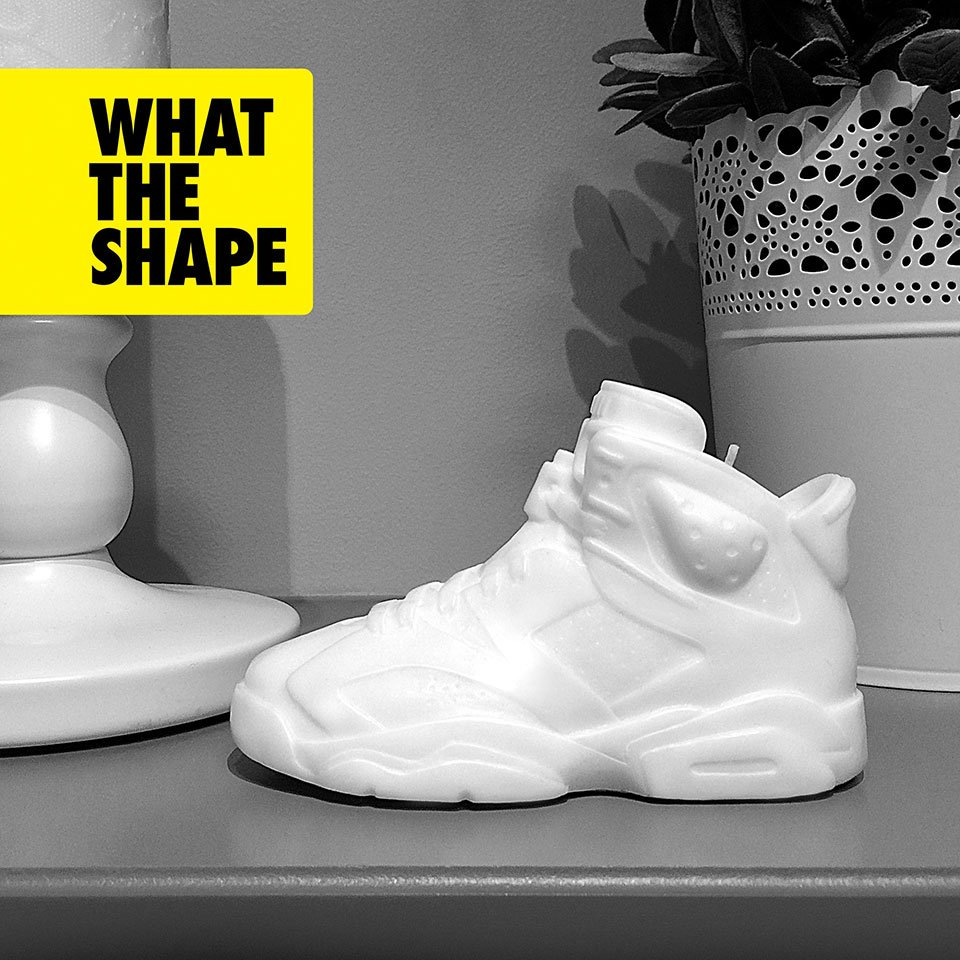 What the Shape Sneaker Candle Set