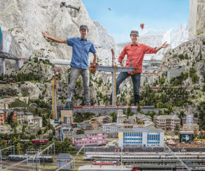 World's Largest Model Train Set