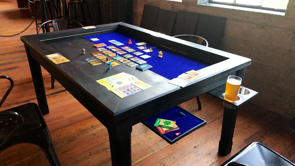 2nd Breakfast Board Game Table