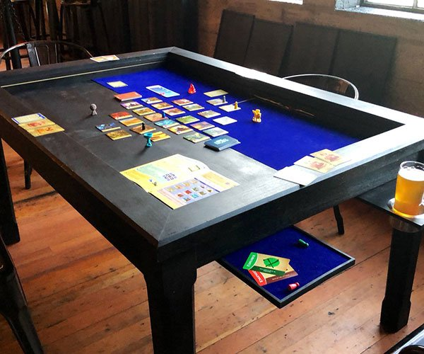 2nd Breakfast Board Game Table