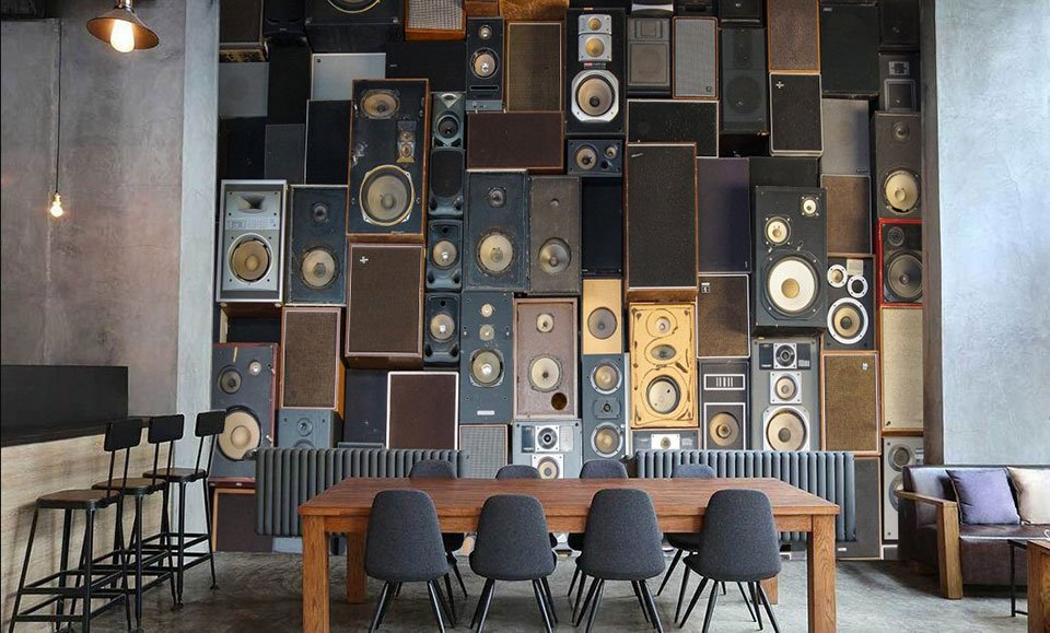 3D Speaker Wallpaper