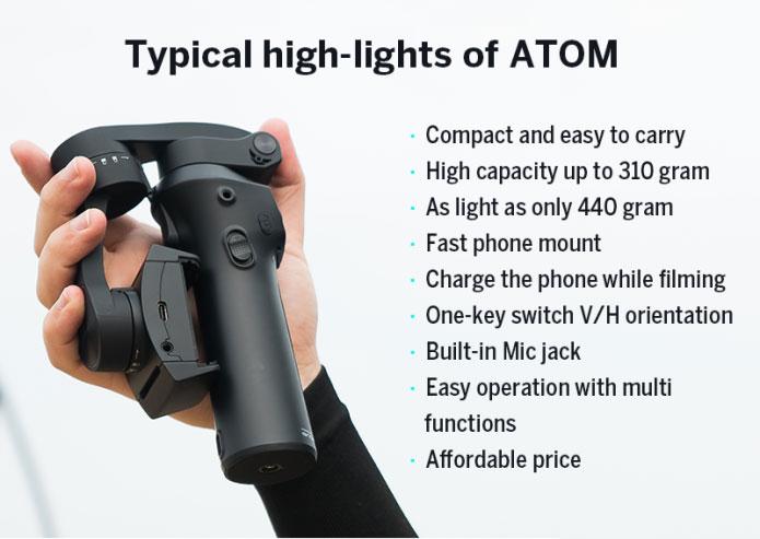 Atom Smartphone Gimbal
