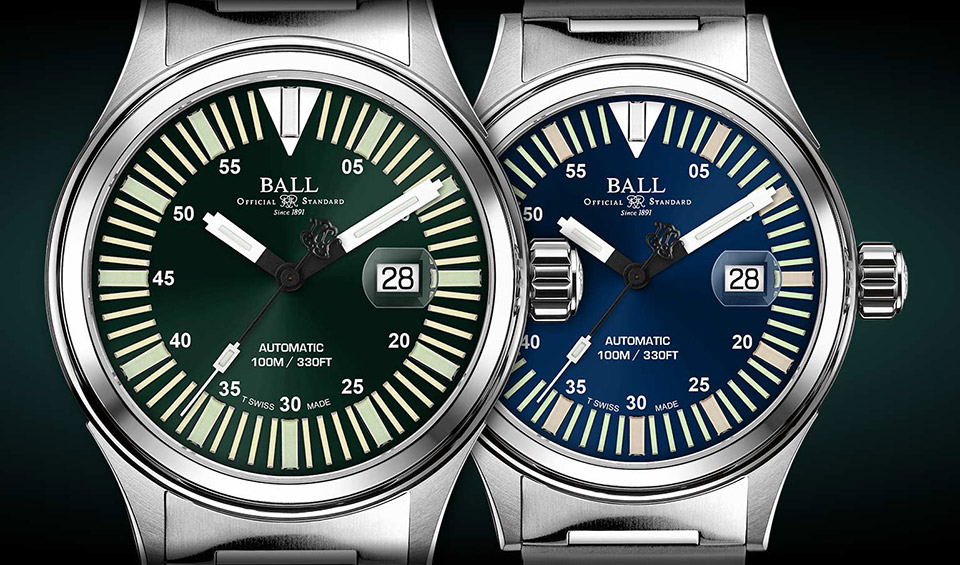 Ball Fireman Night Train III Watch