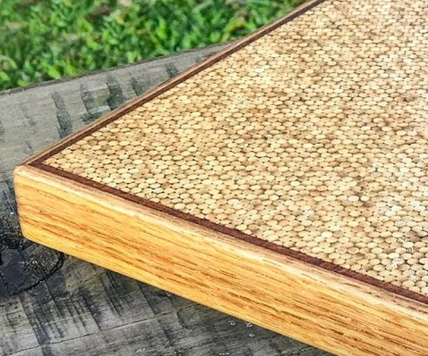 Bamboo Skewer Chopping Board
