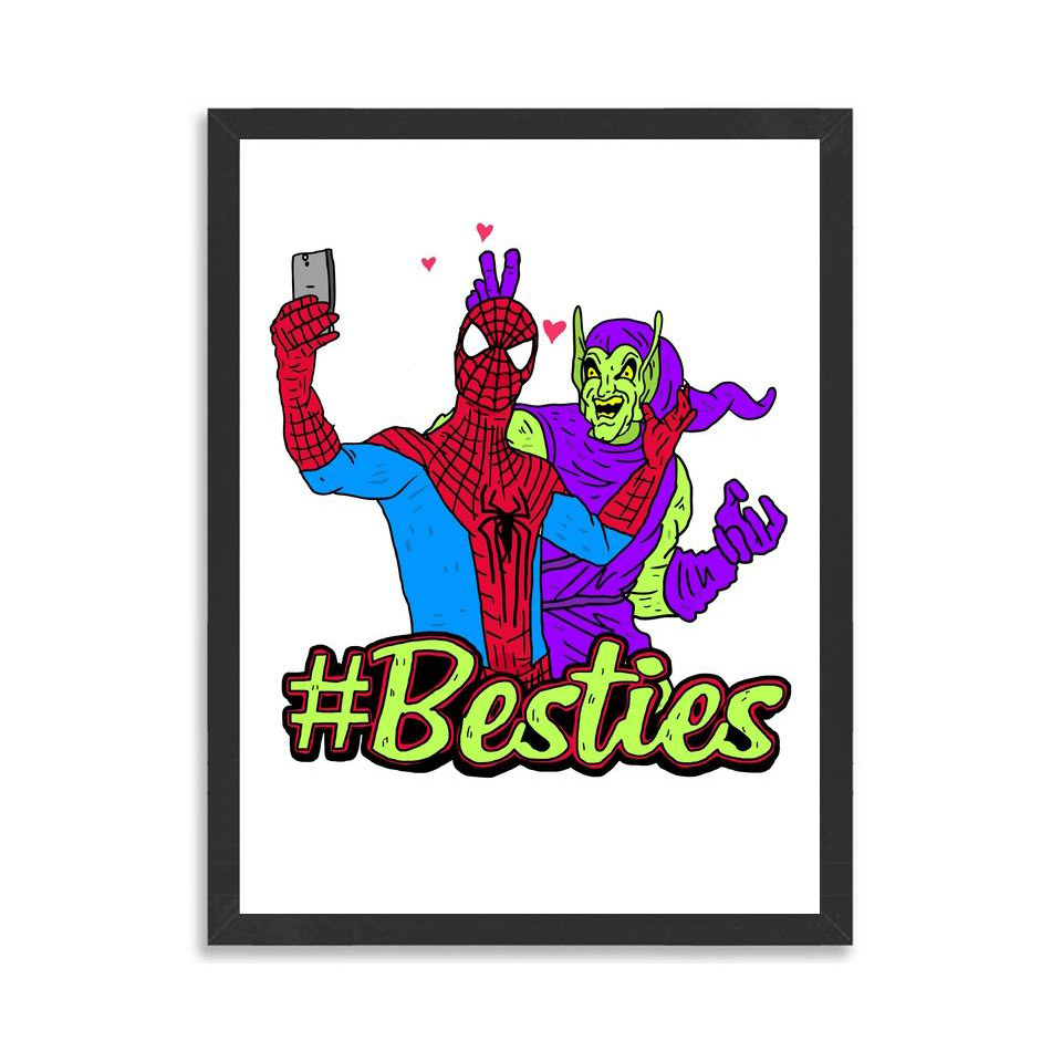 #Besties Art Prints