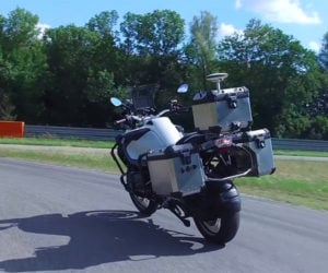 BMW Autonomous Motorcycle