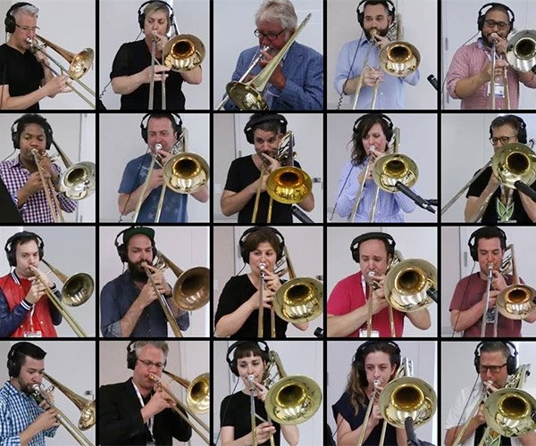 Bohemian Rhapsody on 28 Trombones