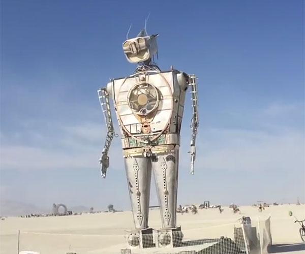 Burning Man 2018 Hyperlapse