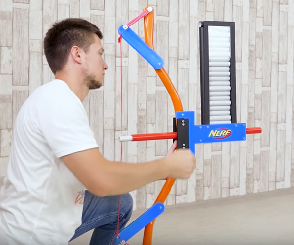 DIY NERF Bow