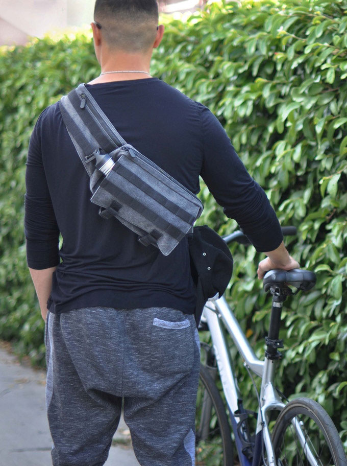 The Evermore Origin Is A Molle Compatible Sling Bag For Carrying Your Essentials
