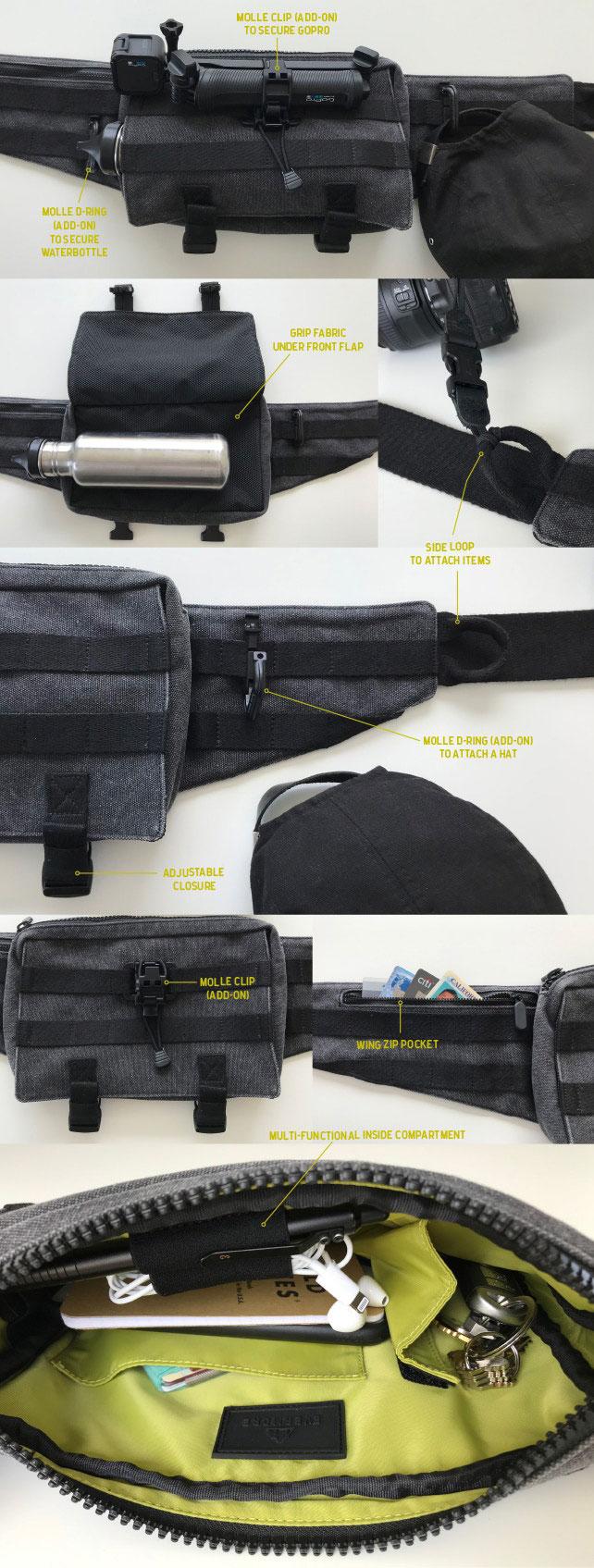 Evermore Origin EDC Sling Bag