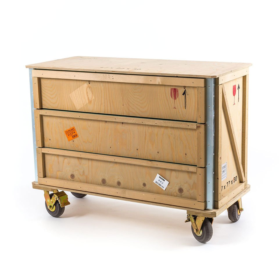 Export Como Wheeled Chest