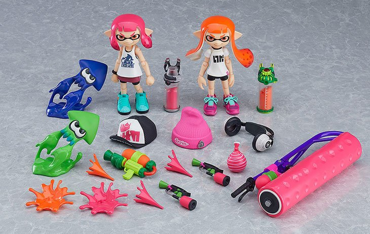 Figma Splatoon Girl Action Figures