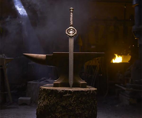 Forging Skyrim's Dawnbreaker