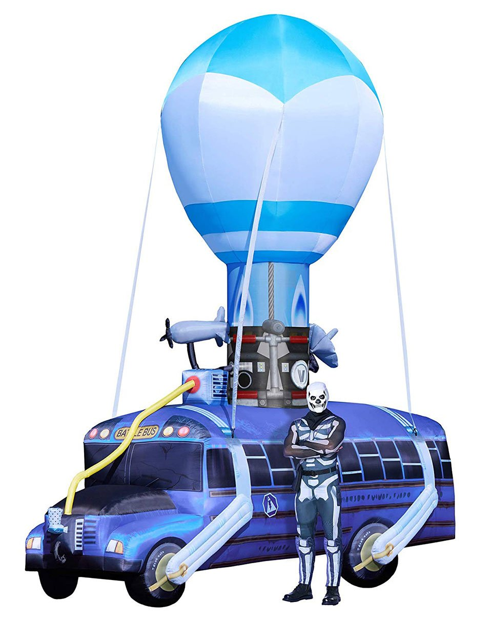 Inflatable Fortnite Battle Bus