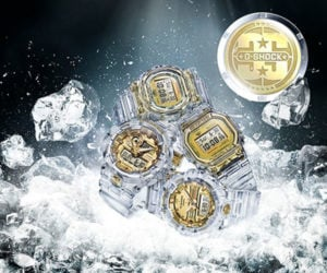 G-SHOCK Glacier Gold