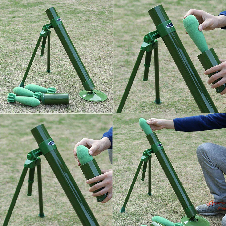 Foam Dart Mortar