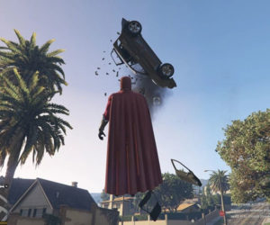 Grand Theft Auto V Magneto Mod