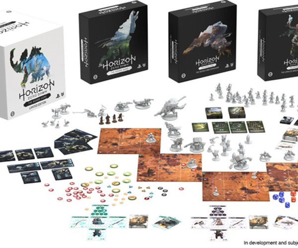 Horizon Zero Dawn Board Game