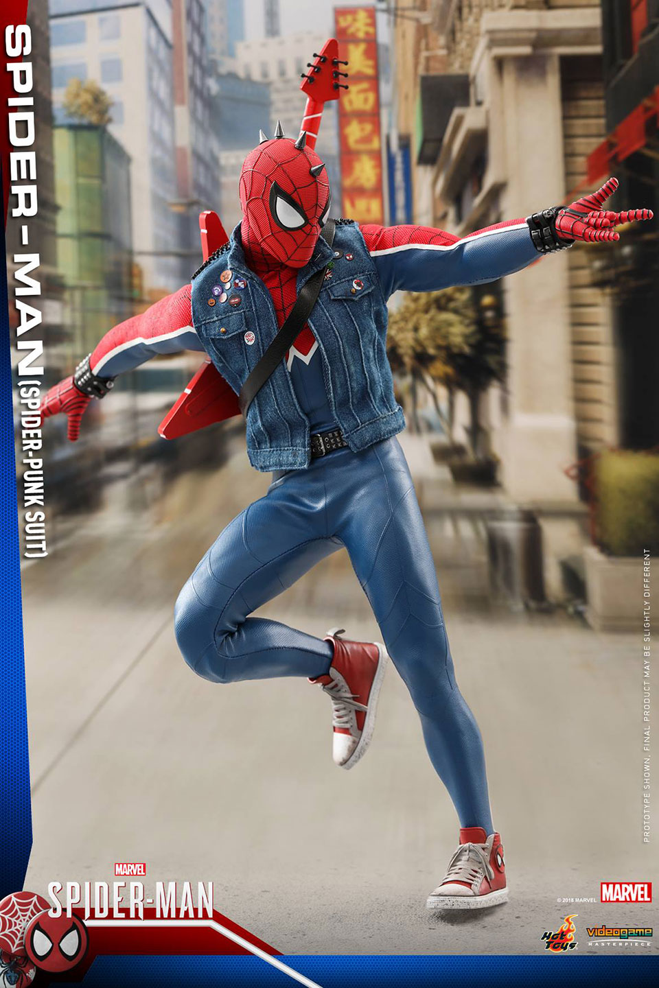Spider-Man Spider-Punk Action Figure