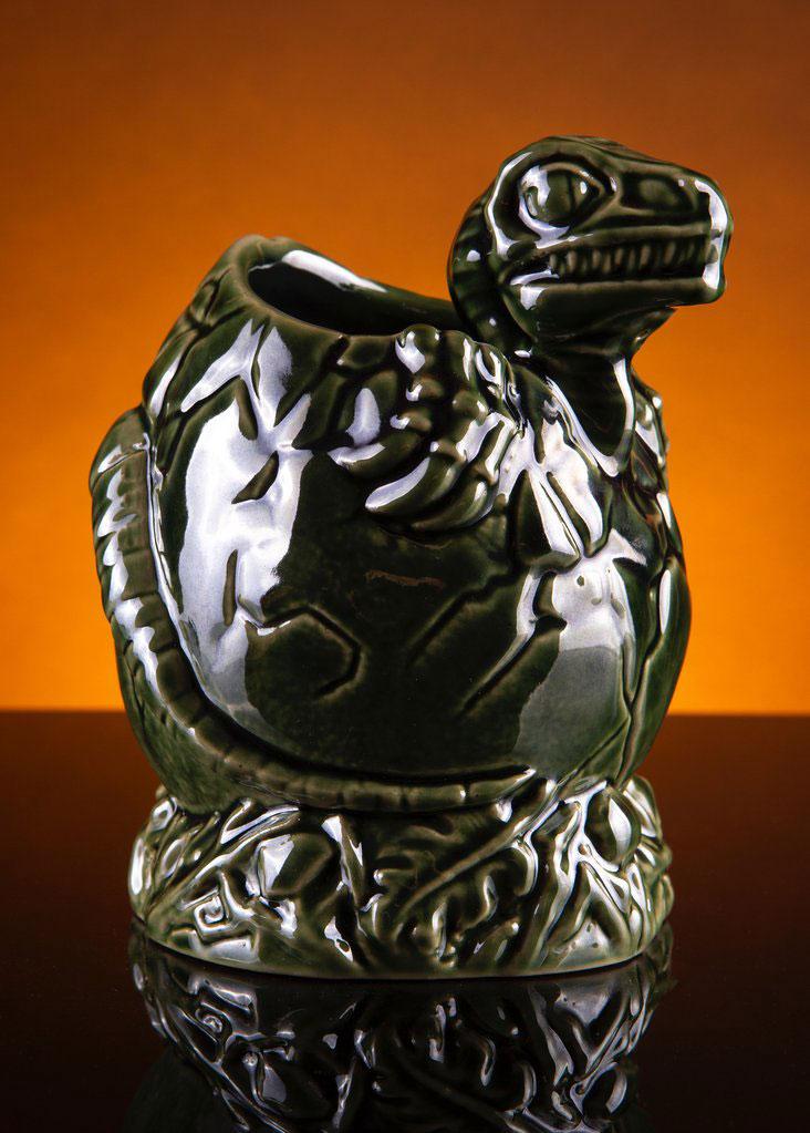 Jurassic Park Baby Raptor Tiki Mug