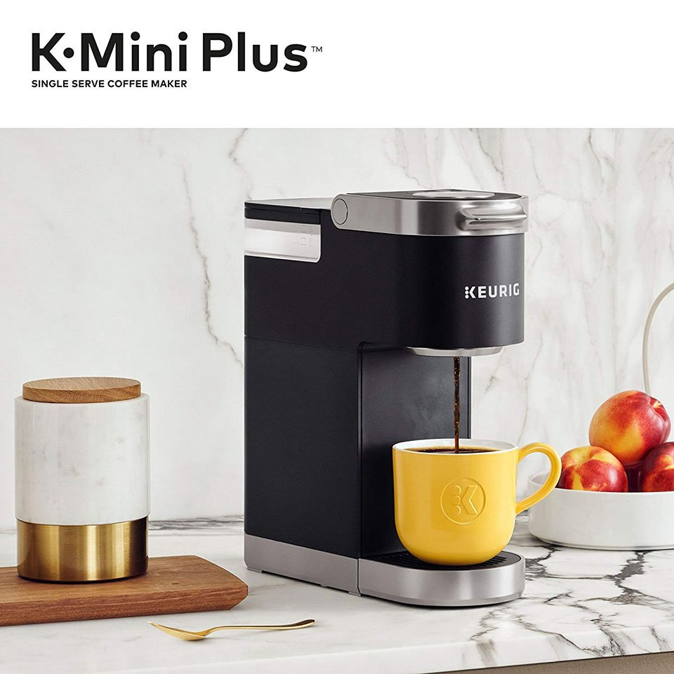 The Keurig K Mini Plus Is A Compact Single Serve Coffee Maker