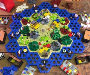 LEGO The Settlers of Catan Concept