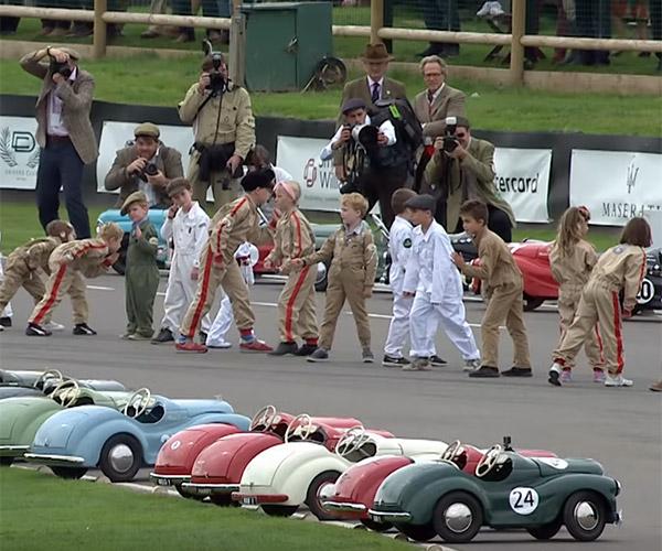 Pedal Car Le Mans Start