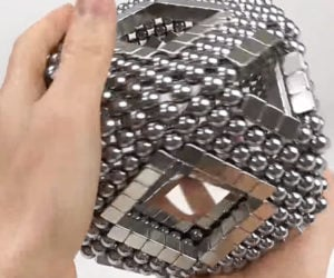 Magnetic Sculptures in Reverse