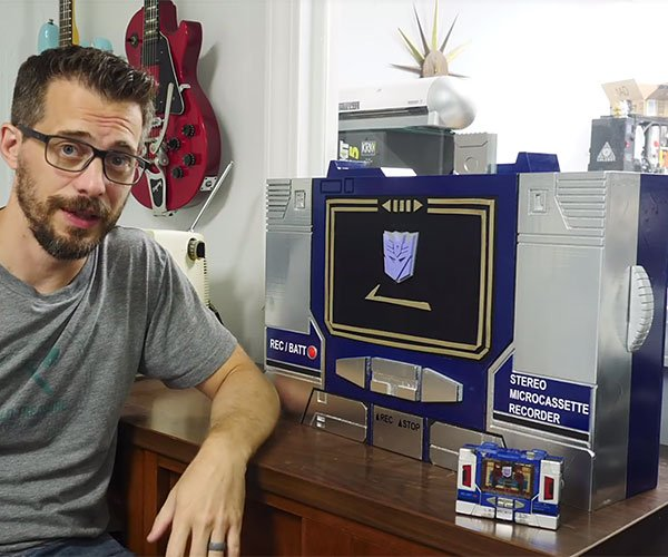 Making a Soundwave Boombox