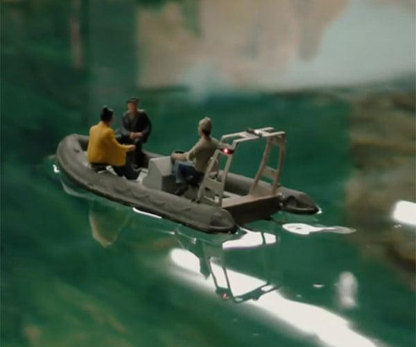 Miniature RC Watercraft