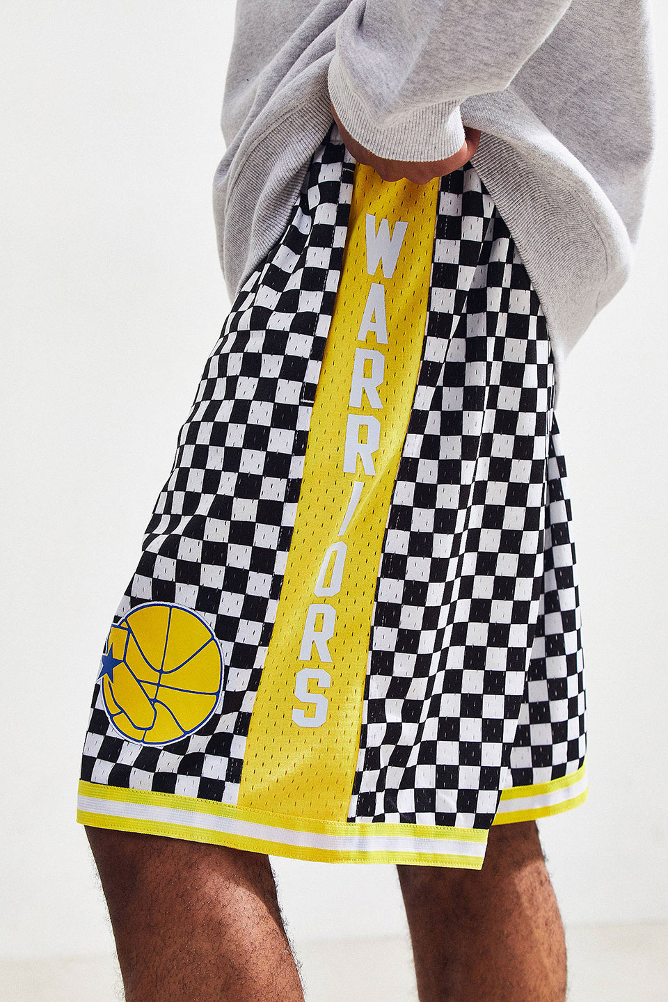 Checkered NBA Shorts & Jerseys