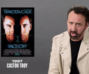 Nicolas Cage on His Famous Roles