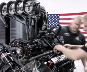 Dragster Engine Time-lapse