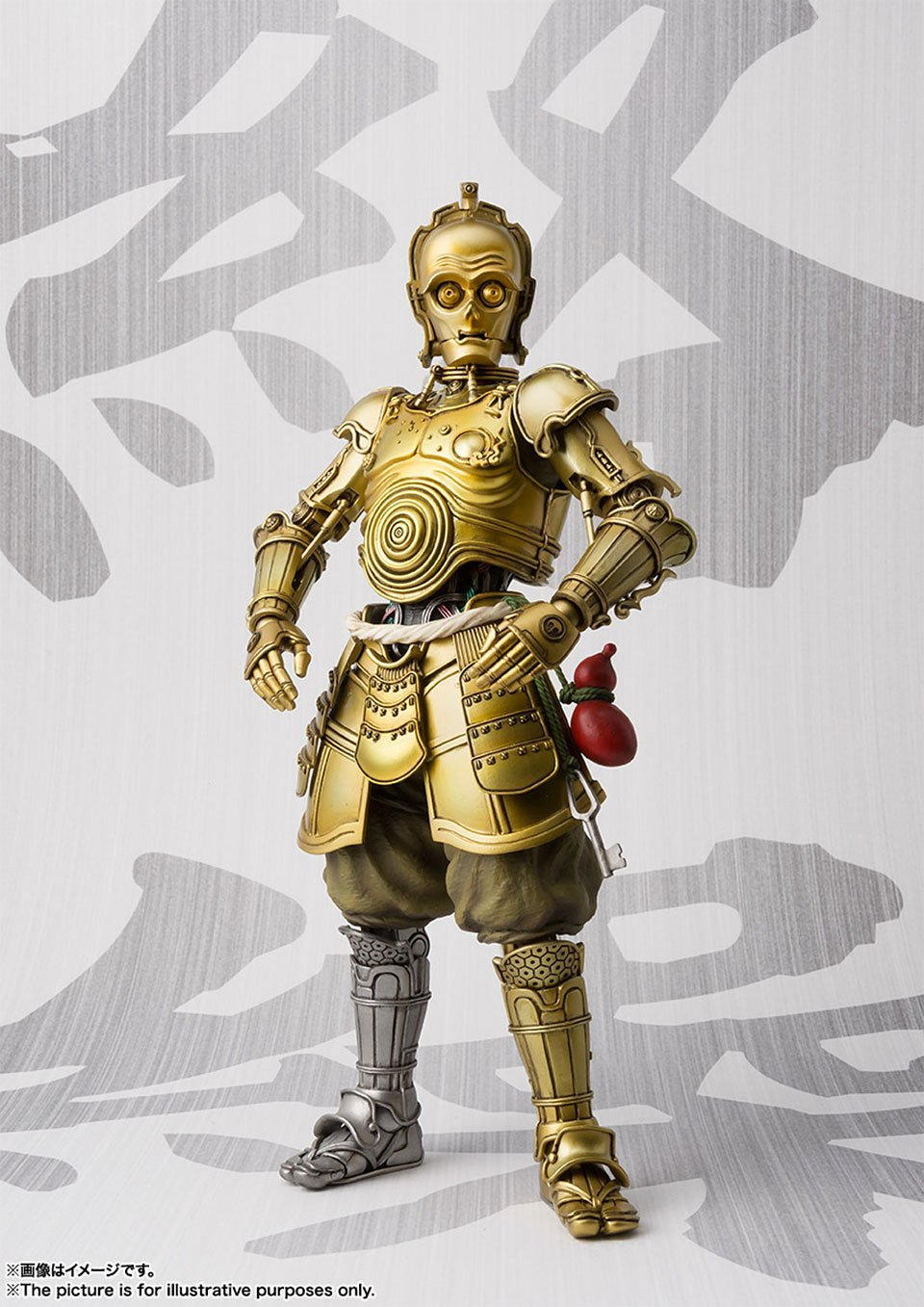 Samurai C-3PO Action Figure