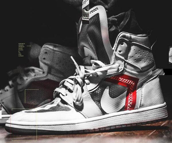 Shoe Surgeon Nike React AJ1