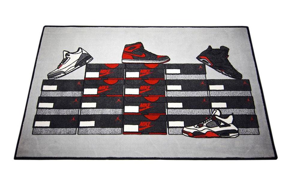Spilled Sneaker Rugs