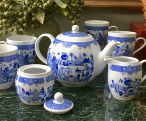 Things Could Be Worse Tea Set