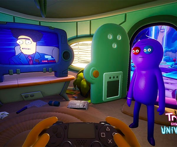 Trover Saves the Universe (Gameplay)