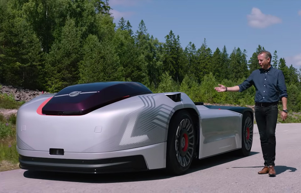 Volvo Vera Autonomous Truck