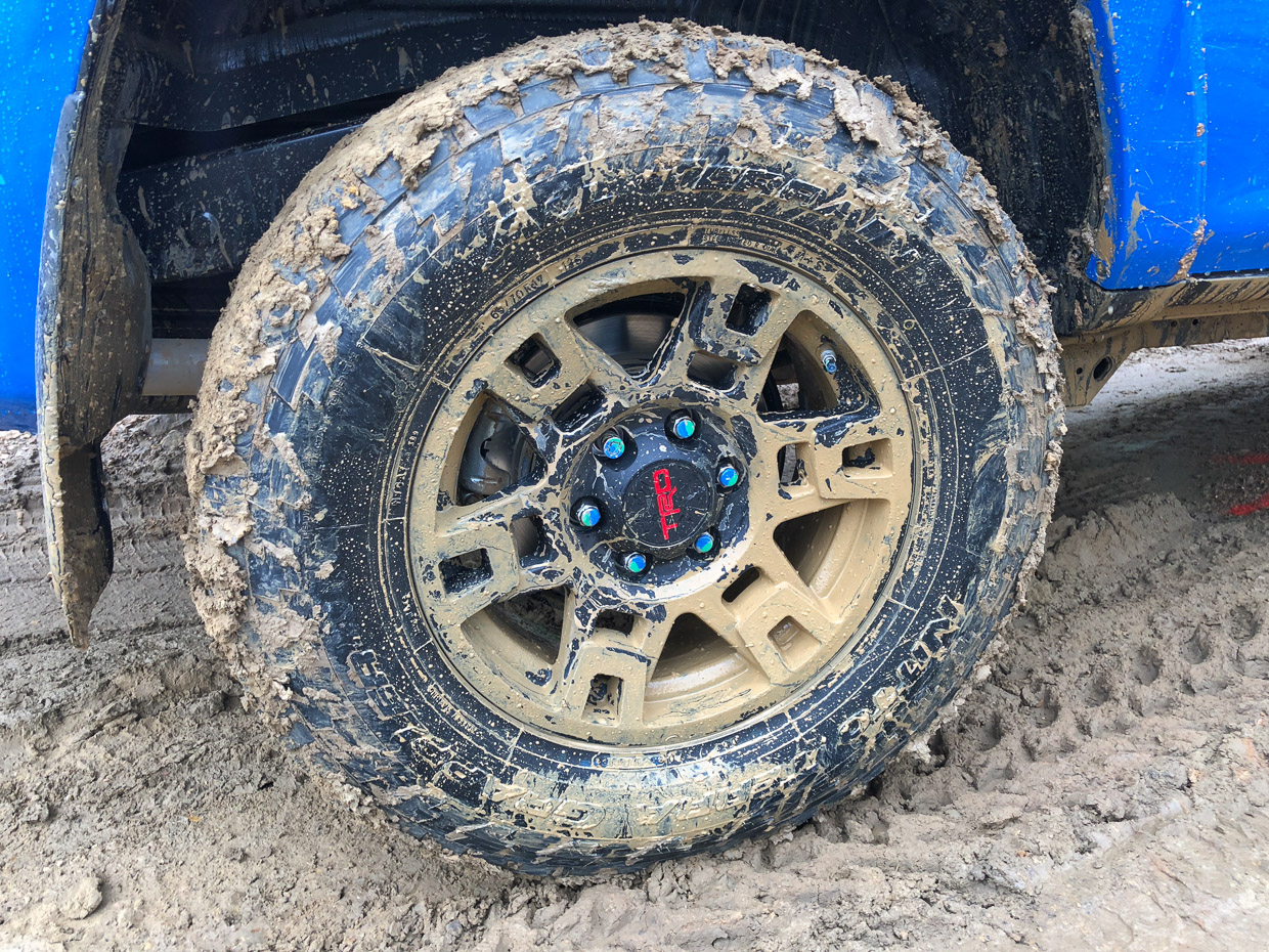 Getting Dirty with Toyota TRD Pro