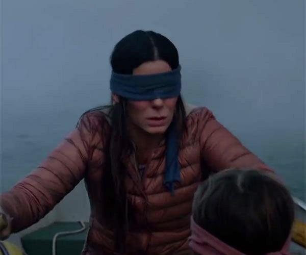 You See Them You Die Sandra Bullock Stars In Netflix Film Bird Box