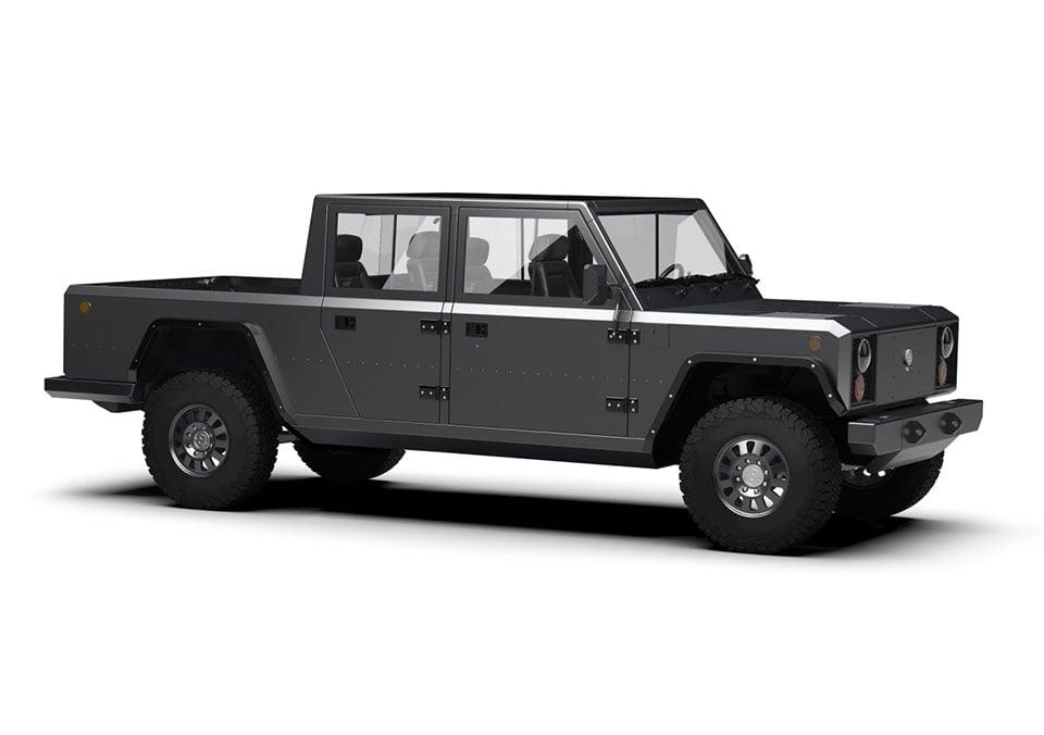 Bollinger B2 Electric Pick Up Truck