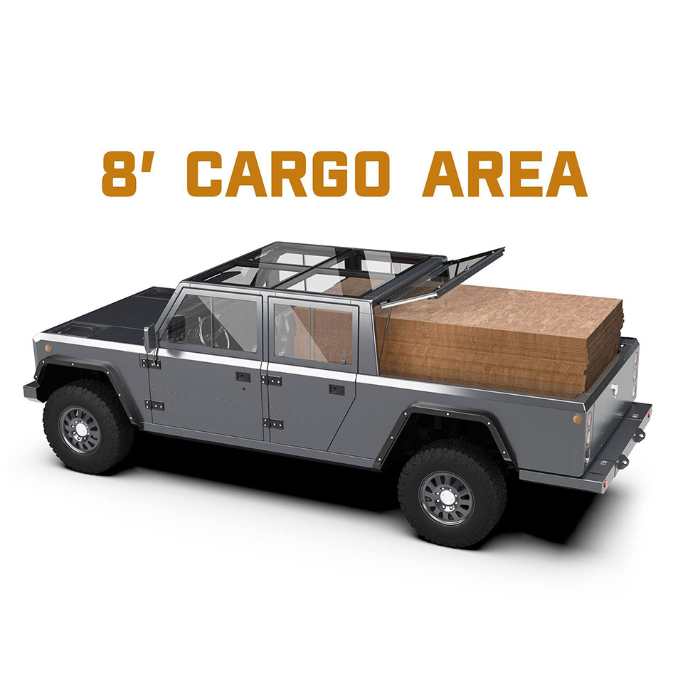 Bollinger B2 Electric Pick Up Truck