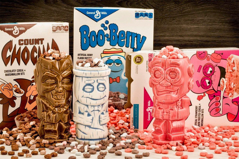 Cereal Monsters Geeki Tikis