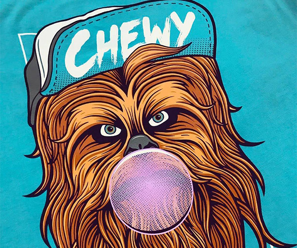 Screen Printing Chewy