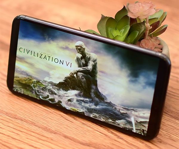 Civilization VI on iPhone